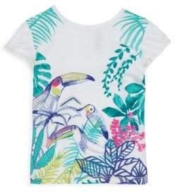 Catimini Little Girl's & Girl's Bird T-Shirt