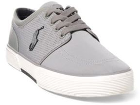 Ralph Lauren Faxon Perforated Sneaker New Glacier 10