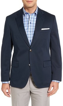 Kroon Men's Mathis Classic Fit Stretch Cotton Blazer