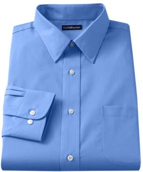 Croft & Barrow Men's Fitted Solid Easy Care Point-Collar Dress Shirt