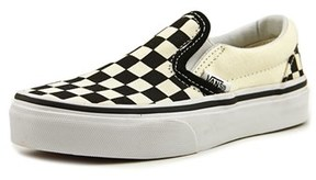 Vans Classic Slip-on Round Toe Canvas Skate Shoe.
