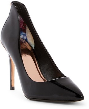 Ted Baker Savit Patent Leather Pointed Toe Pump