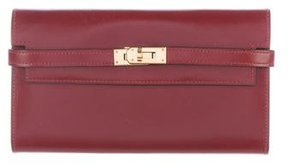 Hermes Box Kelly Longue Wallet - RED - STYLE