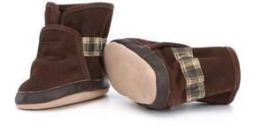 Robeez Baby Boys Newborn-24 Months Faux-Fur Cozy Ankle Bootie Shoes
