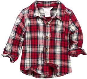 Joe Fresh Flannel Shirt (Baby Boys 12-24M)