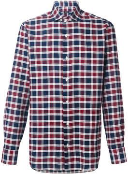 Barba classic plaid shirt