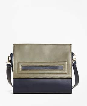 Brooks Brothers Bailey Color-Block Satchel