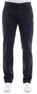 Paolo Pecora Men's Blue Cotton Pants.