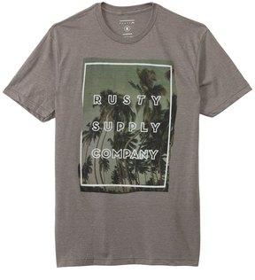 Rusty Men's Adult Crash Short Sleeve Tee 8129041