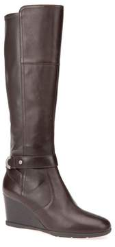 Geox Inspiration Knee High Wedge Boot