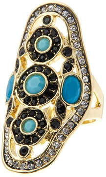 Ariella Collection Boho Cocktail Ring
