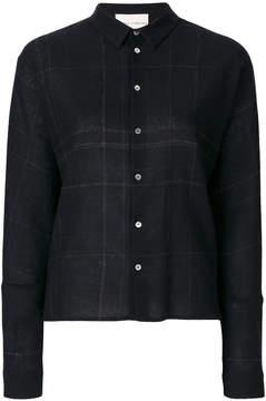 Stephan Schneider plaid shirt