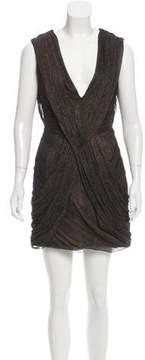 Matthew Williamson Silk Draped Dress w/ Tags