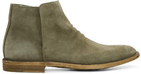Officine Creative Taupe Suede Standard 19 Boots