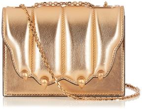 MARCO DE VINCENZO Paw-effect leather cross-body bag