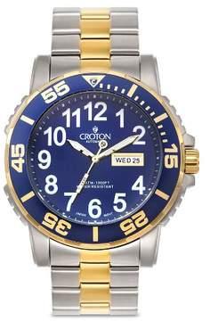 Croton Men's Stainless Steel Wristwatch