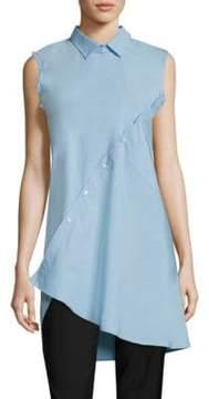 Each X Other Asymmetrical Cotton Poplin Shirt