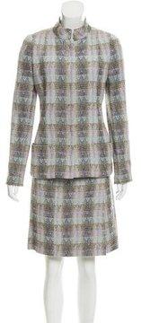 Chanel Tweed Wool-Blend Skirt Suit