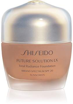 Shiseido Women's Future Solution LX Total Radiance Foundation Broad Spectrum SPF 20 Sunscreen