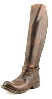 Bed Stu Bristol Women Round Toe Leather Brown Knee High Boot.