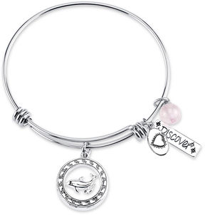 Footnotes Doll Silver-Plated Brass Bangle Bracelet