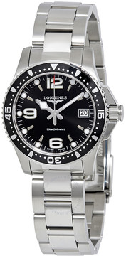 Longines HydroConquest Black Dial Men's Ladies