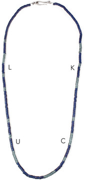Lulu Frost George Frost MORSE NECKLACE - LUCK
