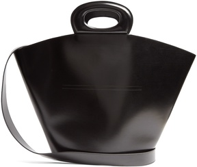 LEMAIRE Basket leather tote