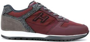 Hogan panelled contrast sneakers