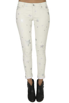 RtA Prince Crop Leather Skinny