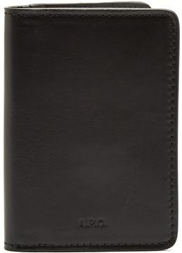 A.P.C. Stefan bi-fold leather cardholder