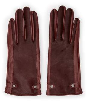 Reiss Jessica Dents Leather Gloves