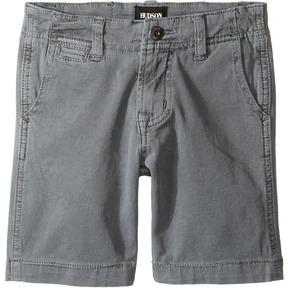 Hudson Sunny Pigment Dyed Twill Shorts in Medium Grey Boy's Shorts