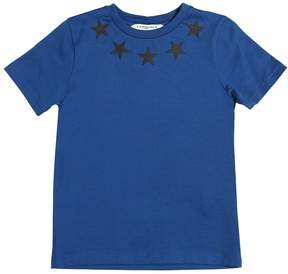 Givenchy Stars Printed Cotton Jersey T-Shirt
