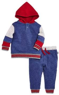 Splendid Boys' Mixed-Fabric Hoodie & Joggers Set - Baby