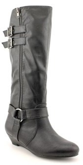 Material Girl Womens Pacer Closed Toe Knee High Fashion Boots Fashion Boots.