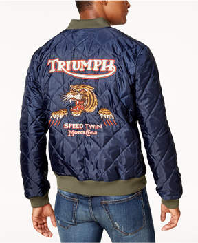 Lucky Brand Men's Triumph Quilted Bomber Jacket