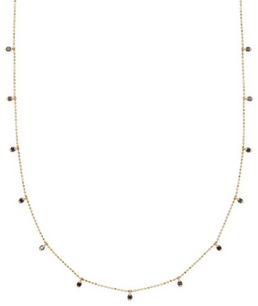 Artisan Women's Black Diamond Necklace