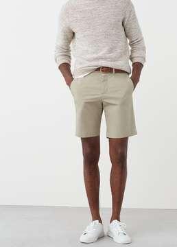 Mango Outlet Cotton bermuda shorts