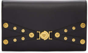 Versace Black Tribute Evening Clutch