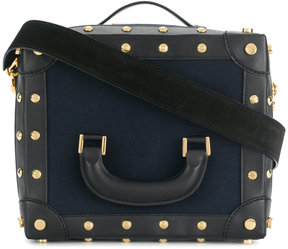 Sacai studded box bag