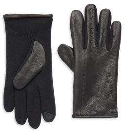 Polo Ralph Lauren Hybrid Touch Leather Gloves