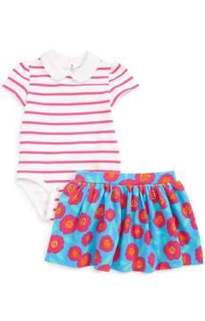 Kate Spade jess bodysuit & skirt set (Baby Girls)
