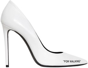 Off-White 100mm For Walking Leather Pumps