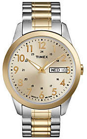 Timex Men's Two-Tone Stainless Steel ExpansionBand Watch