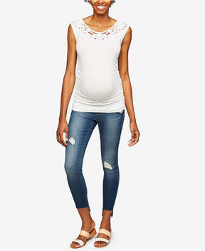 Articles of Society Maternity Medium Wash Skinny Jeans