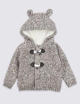 Marks and Spencer Hooded Cosy Cardigan