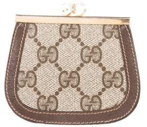 Gucci Vintage GG Plus Coin Pouch