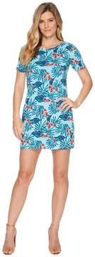 Tommy Bahama Maypop Short Sleeve Short Dress Women's Dress