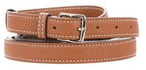 Hermes Bi-Color Etriviere 3 Tour Waist Belt
